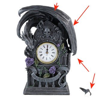 clock (decoration) Dragon Beauty - DAMAGED