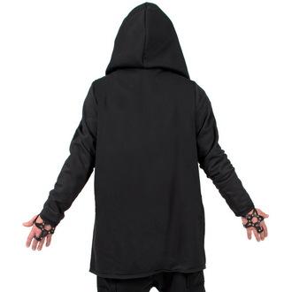 hoodie women's unisex - Black - AMENOMEN - DESIRE-011