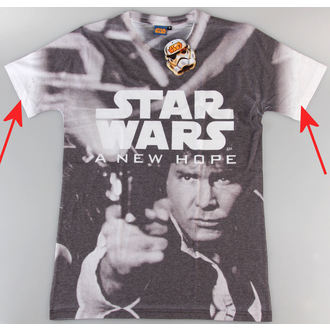 t-shirt men Star Wars - A New Hope (Dye Sub) - PLASTIC HEAD - DAMAGED, PLASTIC HEAD