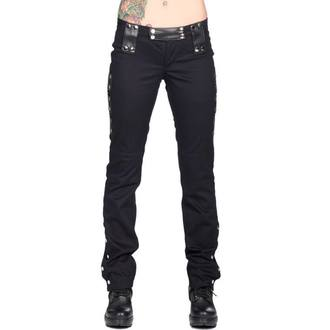 pants women BLACK PISTOL - Stud Low Cut Denim - Black, BLACK PISTOL