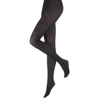 tights PAMELA MANN - Opaque Ribbed - Black - PM225