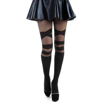 tights PAMELA MANN - V Strap Sheet - Black, PAMELA MANN