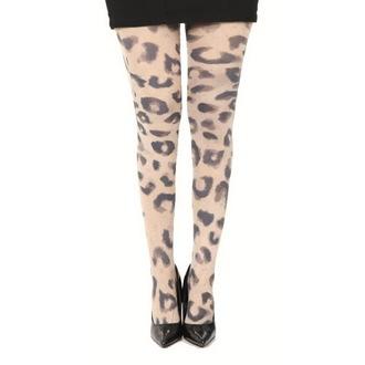 tights PAMELA MANN - Big Leopard Printed - Natural, PAMELA MANN