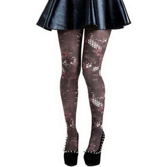 tights PAMELA MANN - patchwork Punk Printed - Multi, PAMELA MANN