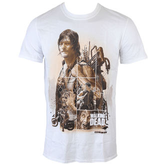 film t-shirt men's The Walking Dead - Daryl Montage - INDIEGO, INDIEGO