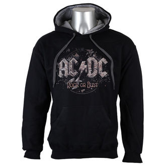 hoodie men's AC-DC - Rock or Bust - LOW FREQUENCY, LOW FREQUENCY, AC-DC