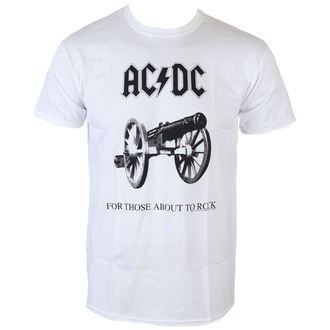 Metal T-Shirt men's AC-DC - For Those about to rock - LOW FREQUENCY - ACTS05004W