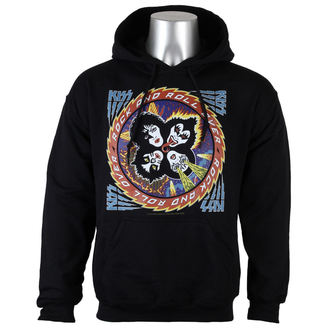 hoodie men's Kiss - Rock and roll over - LOW FREQUENCY, LOW FREQUENCY, Kiss