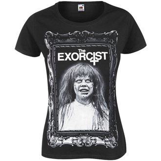 t-shirt hardcore women's Exorcist - THE EXORCIST - AMENOMEN - OMEN074DA