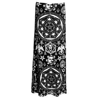 skirt women's KILLSTAR - Occult Maxi - Black - KIL086