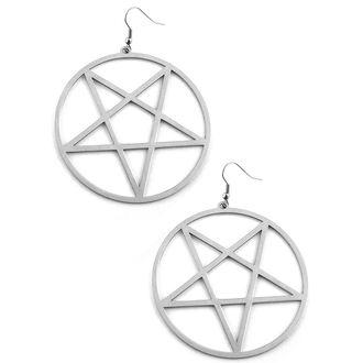 earrings KILLSTAR - Pentagram - KIL212