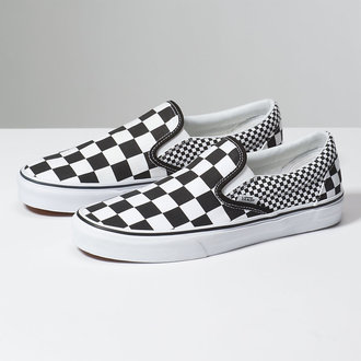 low sneakers unisex - UA CLASSIC SLIP-ON (MIX CHECKER) - VANS, VANS