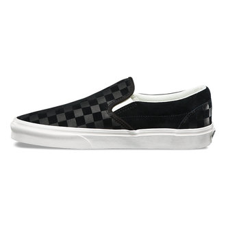 low sneakers unisex - UA CLASSIC SLIP-ON (CHECKER EM) - VANS, VANS