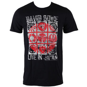 t-shirt metal men's David Bowie - Live In Japan - ROCK OFF, ROCK OFF, David Bowie