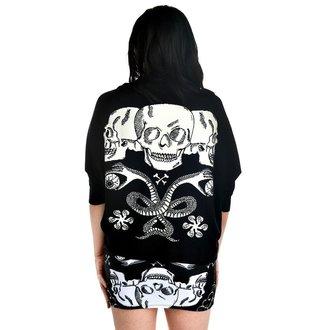sweater women's TOO FAST - Shrug Cardigan - Baroque Skull