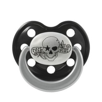 pacifier silicone ROCK STAR BABY -  Tatoo Pirate - 90040