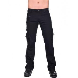 pants men BLACK PISTOL - Combat Pants Denim - (Black) - B-1-60-001-00