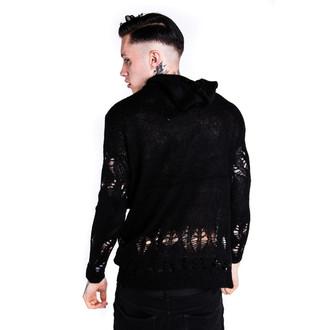 sweater (unisex) KILLSTAR - Creep Knit - Black