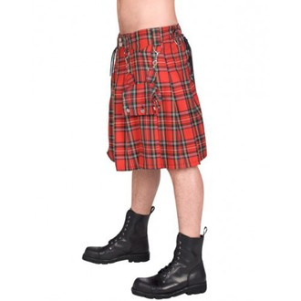 kilt men's BLACK PISTOL - Eye Kilt Tartan - (Black), BLACK PISTOL