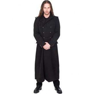 coat men's BLACK PISTOL - Army Coat Wool - BLACK - B-7-07-064-00