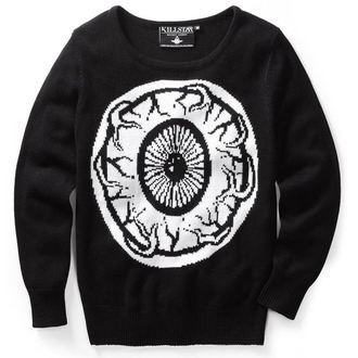 sweater (unisex) KILLSTAR - My Eye - Black - KIL056