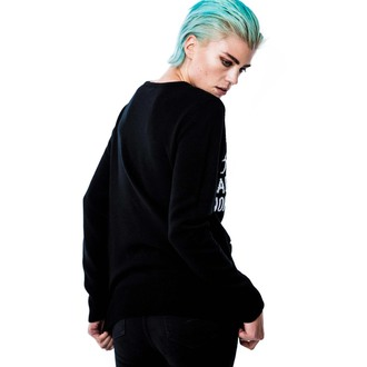 sweater (unisex) KILLSTAR - Ouija - Black, KILLSTAR