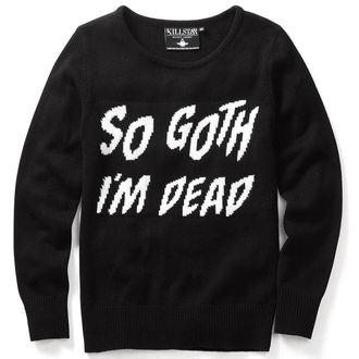 sweater (unisex) KILLSTAR - So Goth - Black - KIL073