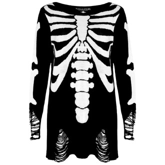 sweater (unisex) KILLSTAR - Skeletor - Black, KILLSTAR