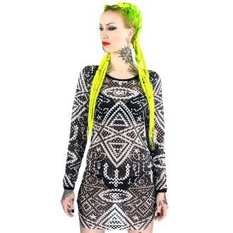 dress women KILLSTAR - Thelema Fishnet - Black - KIL126