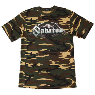 t-shirt men Sabaton - Inmate Camouflage - NUCLEAR BLAST - 2292 - DAMAGED, NUCLEAR BLAST, Sabaton