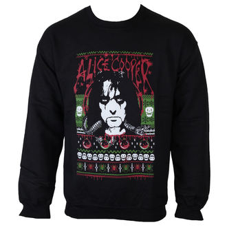 sweatshirt (no hood) men's Alice Cooper - Holiday 2015 - ROCK OFF, ROCK OFF, Alice Cooper