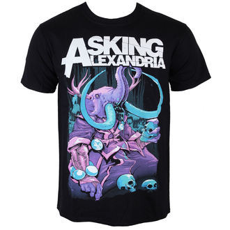 t-shirt metal men's Asking Alexandria - Devour - ROCK OFF - ASKTS12MB