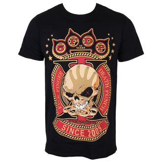 t-shirt metal men's Five Finger Death Punch - Anniversary X - ROCK OFF - FFDPTS13MB