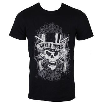 Metal T-Shirt men's Guns N' Roses - Faded Skull - ROCK OFF - GNRTS17MB