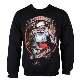 sweatshirt (no hood) men's Mastodon - Hail Santa Holiday - ROCK OFF, ROCK OFF, Mastodon
