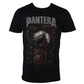 t-shirt metal men's Pantera - Serpent Skull - ROCK OFF, ROCK OFF, Pantera