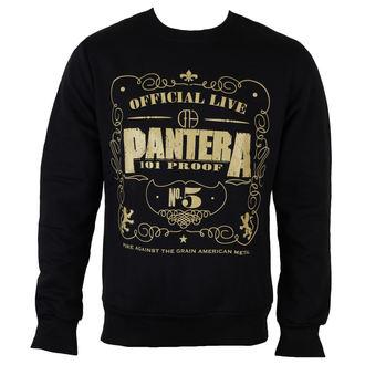 sweatshirt (no hood) men's Pantera - 101 Proof - ROCK OFF, ROCK OFF, Pantera