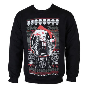 sweatshirt (no hood) men's Rob Zombie - Bloody Santa - ROCK OFF, ROCK OFF, Rob Zombie