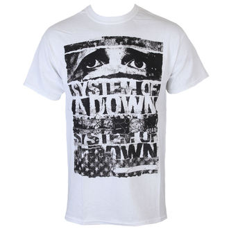 t-shirt metal men's System of a Down - Torn - ROCK OFF - SOADTS01MW