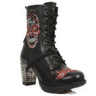 high heels women's - BORDADOS ROJO - NEW ROCK, NEW ROCK