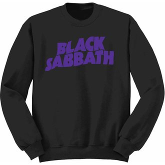 sweatshirt (no hood) children's Black Sabbath - Wavy Logo - ROCK OFF, ROCK OFF, Black Sabbath