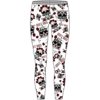 pants women (leggings) Guns N' Roses - Skull & Roses - ROCK OFF - GNRLEG01