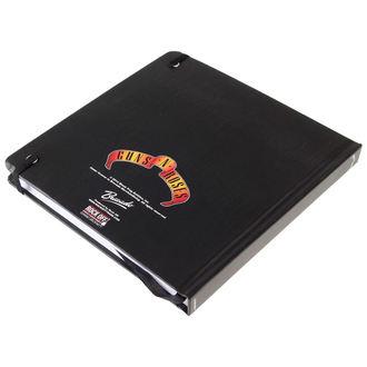 writing notepad Guns N' Roses - Classic Logo - ROCK OFF, ROCK OFF, Guns N' Roses