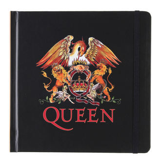 writing notepad Queen - Logo - ROCK OFF, ROCK OFF, Queen
