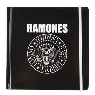 writing notepad Ramones - Presidential Seal - ROCK OFF, ROCK OFF, Ramones