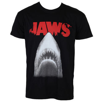 film t-shirt men's JAWS - Poster - HYBRIS - UV-1-JAWS002-H61-4-BK