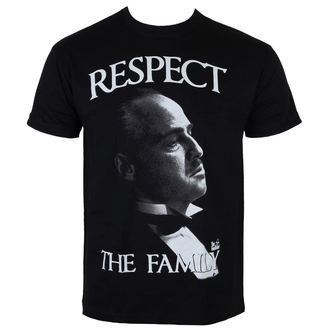film t-shirt men's The Godfather - Respect The Family - HYBRIS - PM-1-TGF005-H26-15-BK
