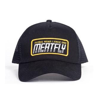 cap MEATFLY - Garage trucker - C-Black, MEATFLY