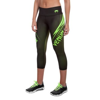 pants women 3/4 (leggings) VENUM - Razor - Black / Yellow, VENUM