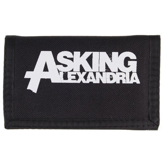 wallet Asking Alexandria - Logo - PLASTIC HEAD, PLASTIC HEAD, Asking Alexandria
